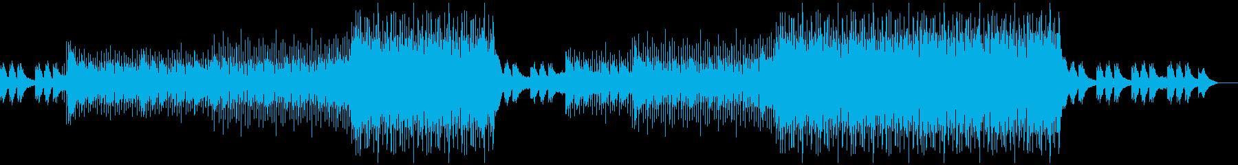 洋楽ポップス2(No Vocal)の再生済みの波形