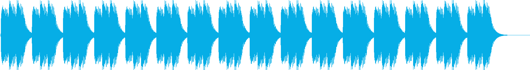 ピロピロピロ(目覚まし時計のアラーム音…の再生済みの波形