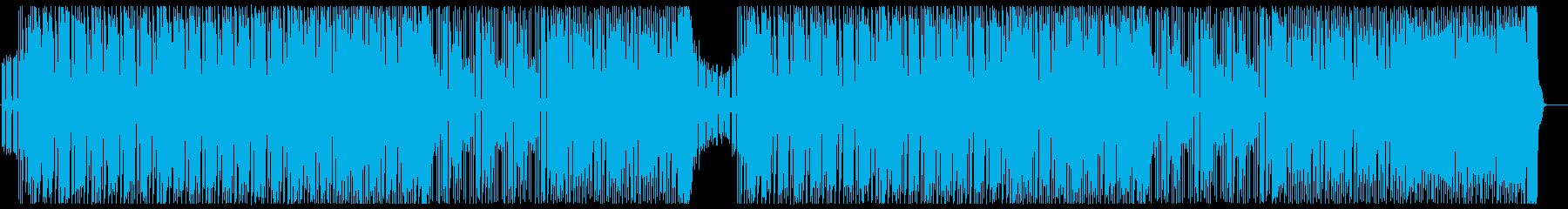 エネルギッシュなピアノダンスポップ声無しの再生済みの波形