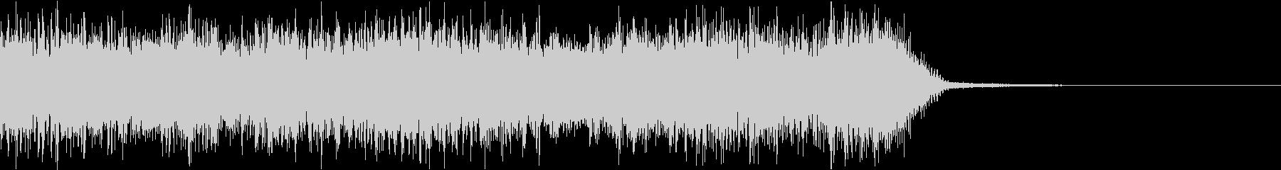 エネルギッシュ・ロックなサウンドロゴ06の未再生の波形