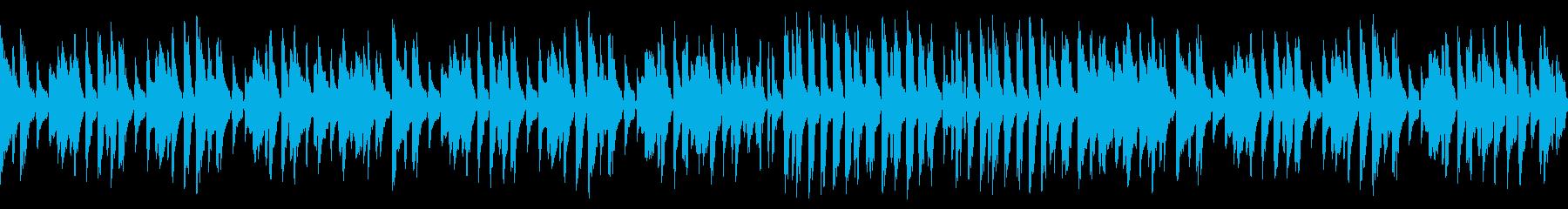 気軽でウキウキお洒落ジャズピアノ(ループの再生済みの波形