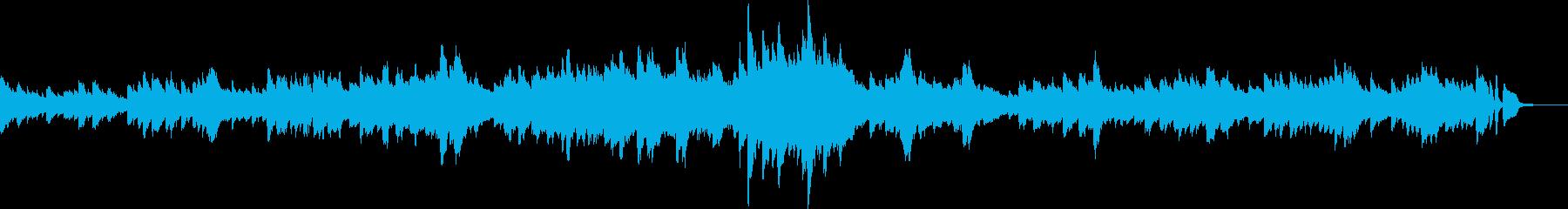 寂しげなピアノソロワルツ(懐かしい)の再生済みの波形