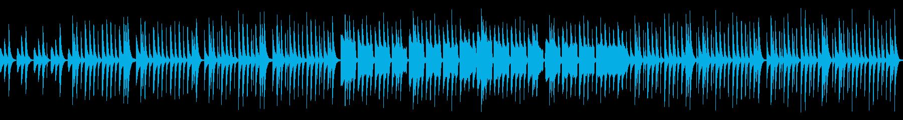 かわいい木琴、ほのぼのとした曲_ループ可の再生済みの波形