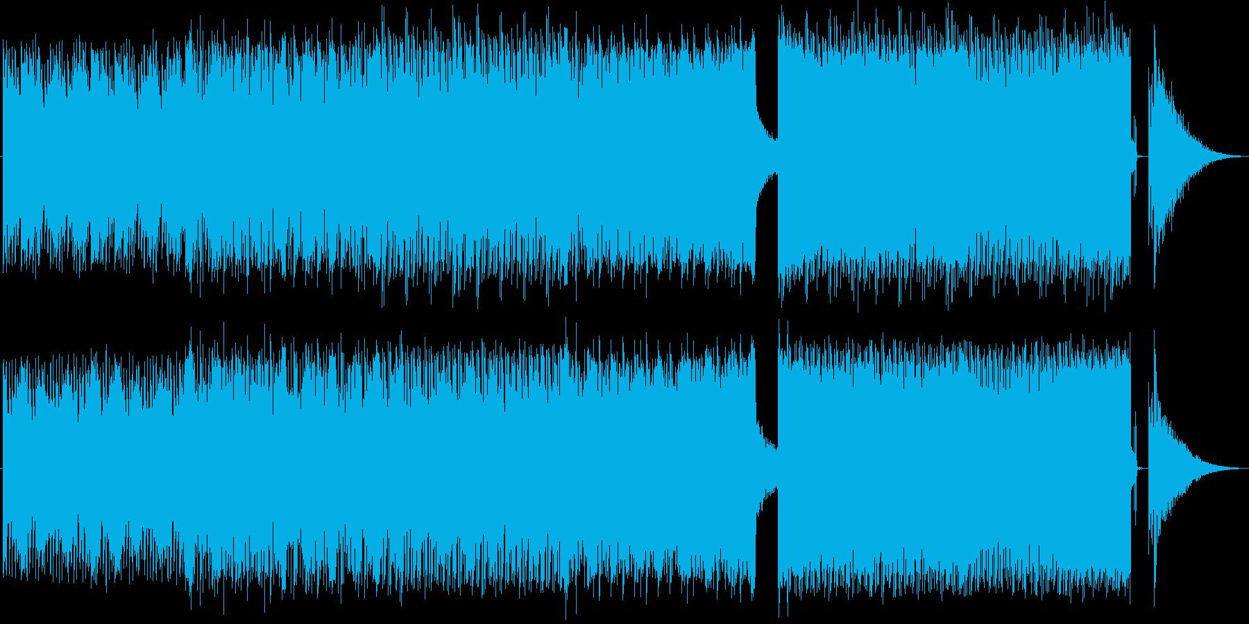 疾走 テクノ スピード感 緊迫 逃げるの再生済みの波形