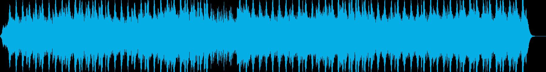 人のいない風景に合うストリングス曲の再生済みの波形