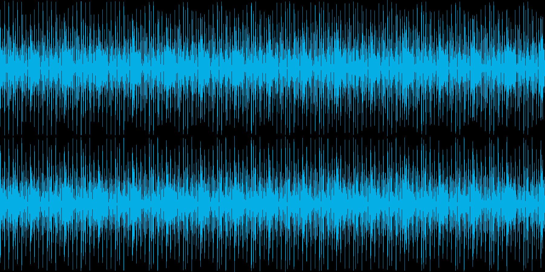 テクノファンクなシンキングタイム2の再生済みの波形