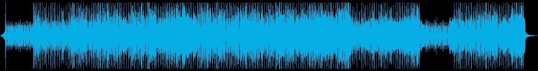 ファンキーロック♪かっこいい動画映像CMの再生済みの波形