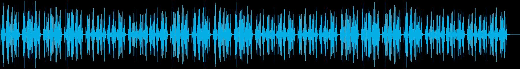 まったり・日常・コミカル・マリンバの再生済みの波形