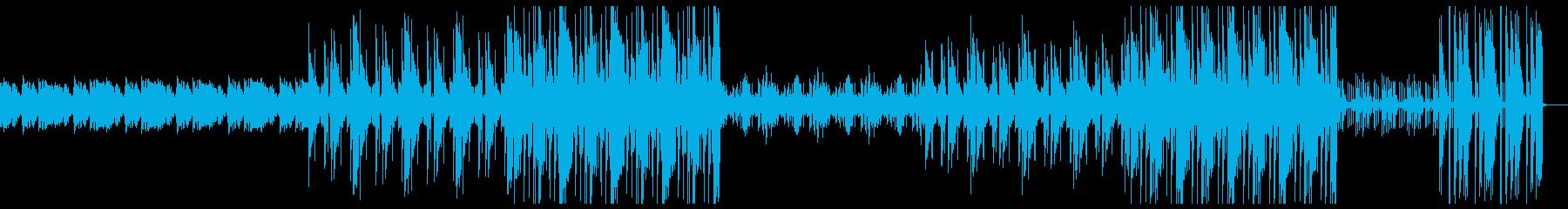 不思議 異国感 トラップビートの再生済みの波形