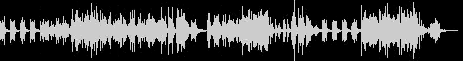 リトルワールド・メルヘンなピアノソロの未再生の波形
