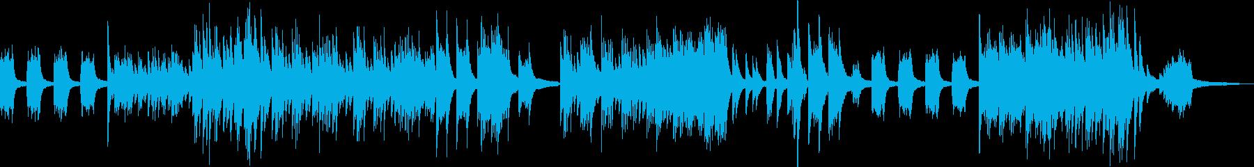 リトルワールド・メルヘンなピアノソロの再生済みの波形
