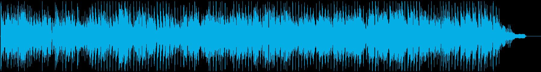 都会的なサックスのノリノリなクラブジャズの再生済みの波形