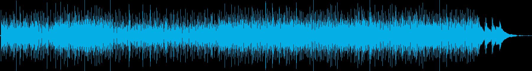 なめらかで大人っぽいメロディーの再生済みの波形