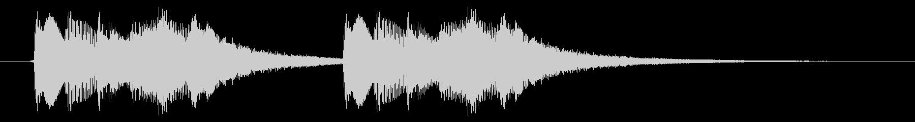 緊急アラート01-4(遠い)の未再生の波形