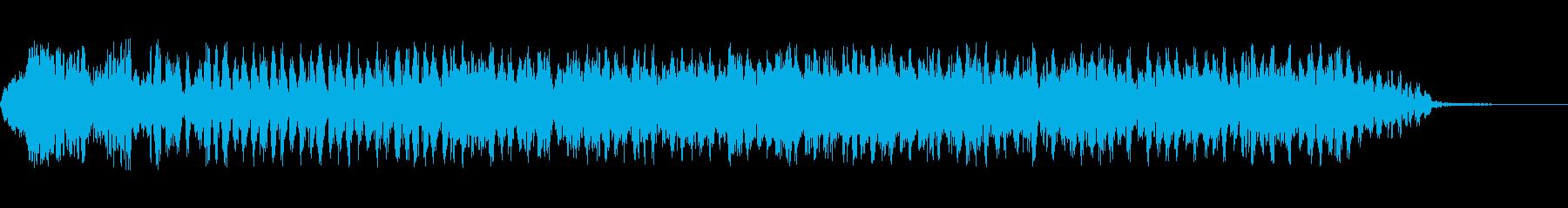 ドラム解散、トリブル1の再生済みの波形
