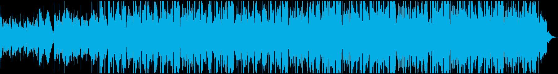 このサウンドトラックは、ラテン系と...の再生済みの波形