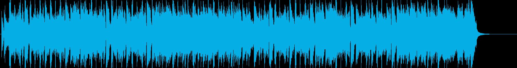 「男」を感じる躍動的なワイルドロックの再生済みの波形