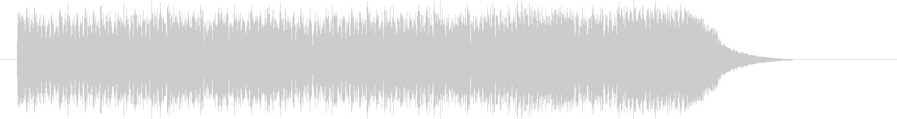 メロディアスなデジタルロックの未再生の波形