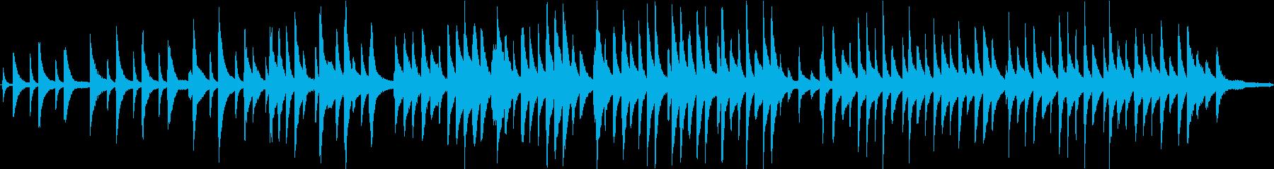 ポエムのような叙情的ピアノソロの再生済みの波形