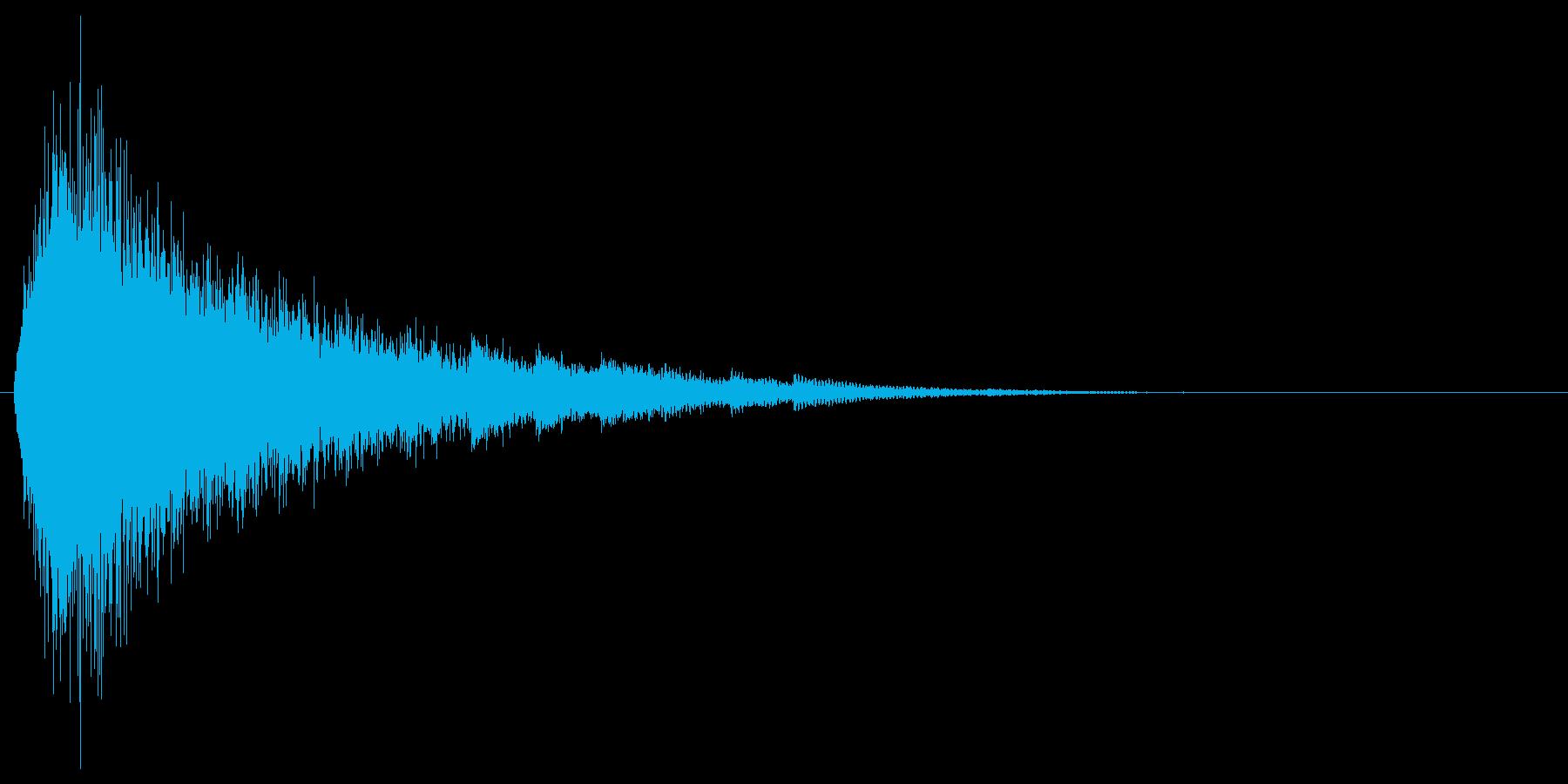 シュー...(魔法詠唱、雪の結晶)の再生済みの波形