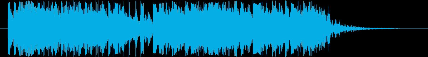 ムーディーなハイクオリティージングル15の再生済みの波形