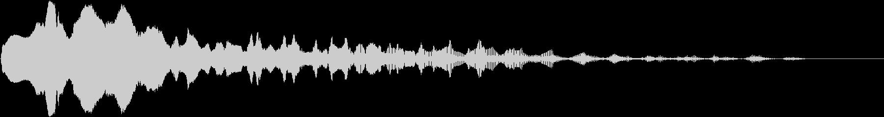 トランペット:ウマウイニーの未再生の波形
