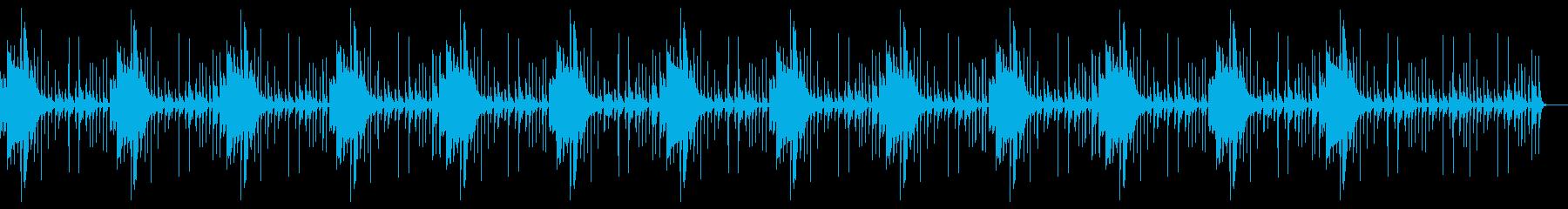 奇妙 不思議ミステリアス謎 不安 怪しげの再生済みの波形