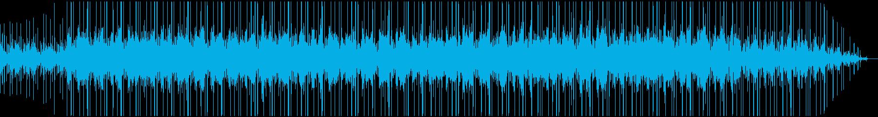 雨の日に聞きたい作業用bgm1の再生済みの波形