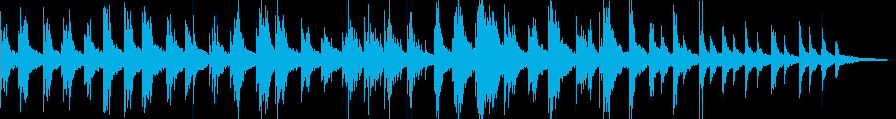 ヒーリングピアノ組曲 ただよう 12の再生済みの波形