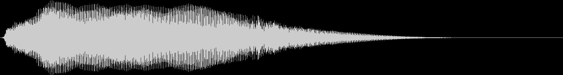 ダークな雰囲気_シンセパッド_Cの未再生の波形