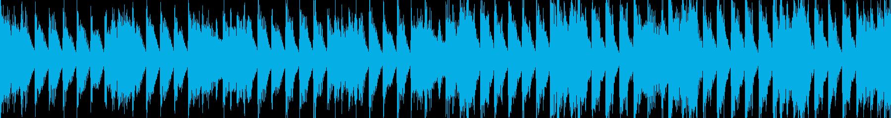 クールでスタイリッシュなサウンドの再生済みの波形