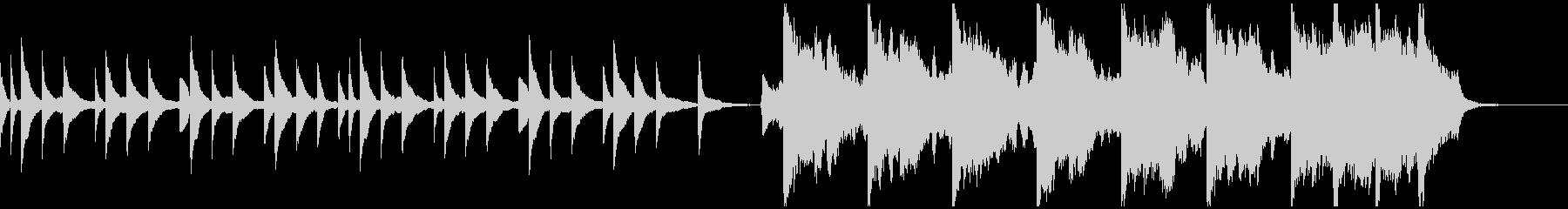 ピアノとバイオリンによる悲しい曲 Aの未再生の波形