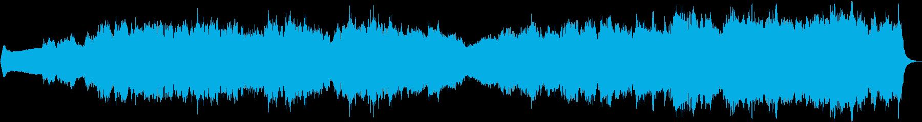 アンビエントミュージック 広い 壮...の再生済みの波形