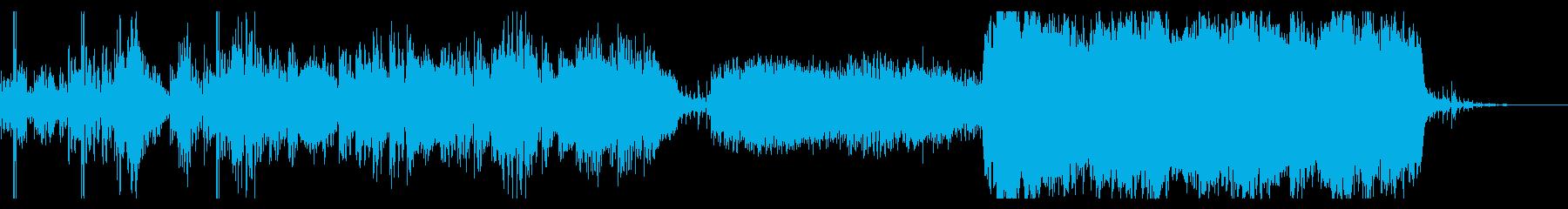 深い水の底からゆっくりと上がってくるよ…の再生済みの波形