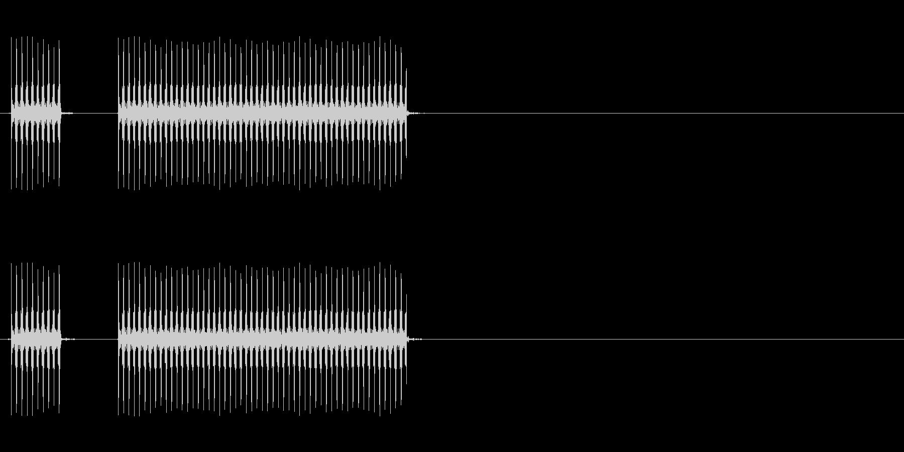 【不正解02-3】の未再生の波形