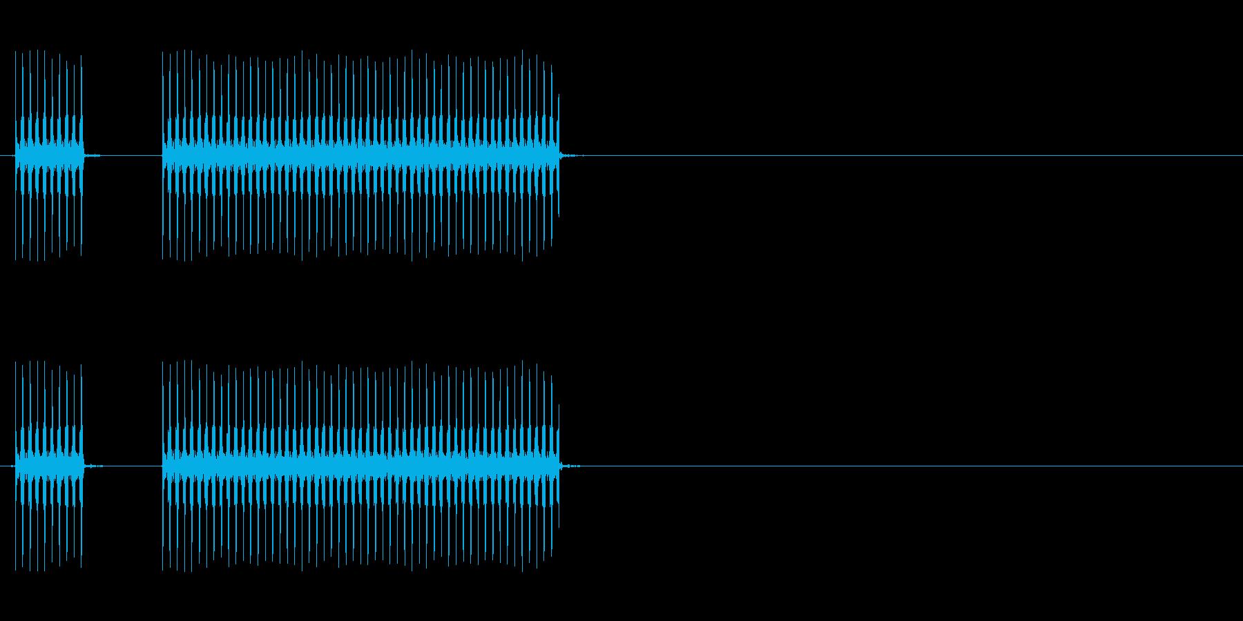 【不正解02-3】の再生済みの波形