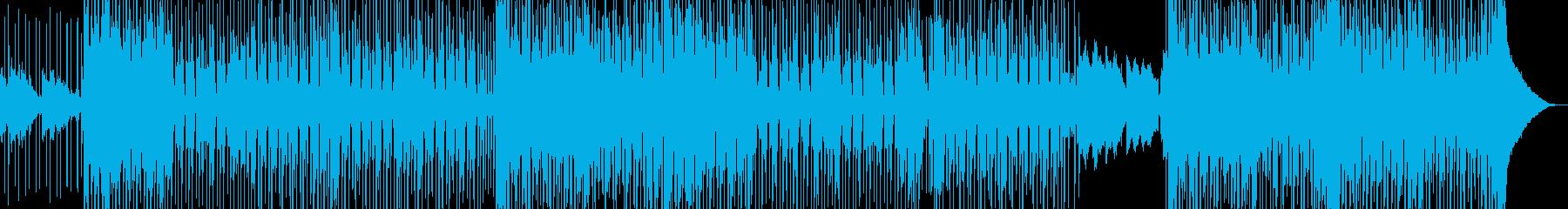 オシャレ切ない・変則的R&B・シンセ有りの再生済みの波形