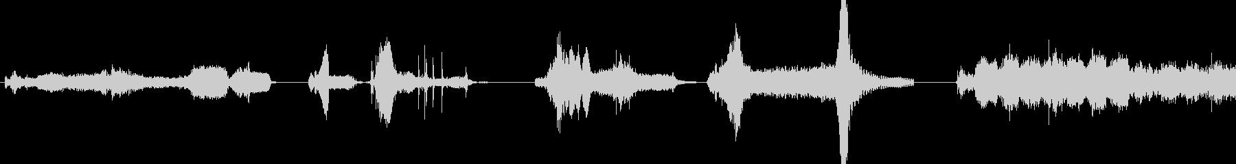 ロボットの動き;カートゥーンマルチ...の未再生の波形