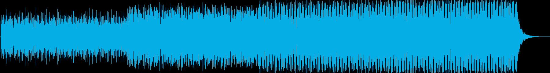 エレクトロニカ ゲームバトルシーンスローの再生済みの波形