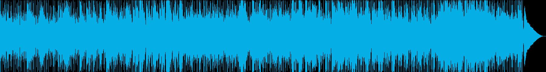 テナーとアルトサックスのメロディー...の再生済みの波形