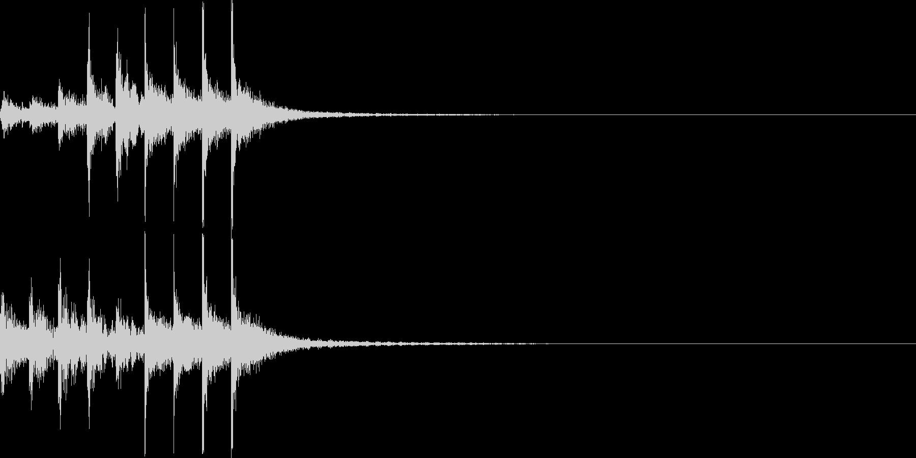 タム回し/高音へ/ドラムフィル/2の未再生の波形