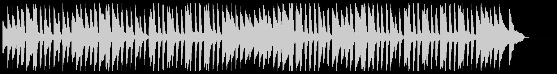 山の音楽家 ピアノver.の未再生の波形