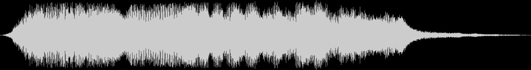 尺八の未再生の波形