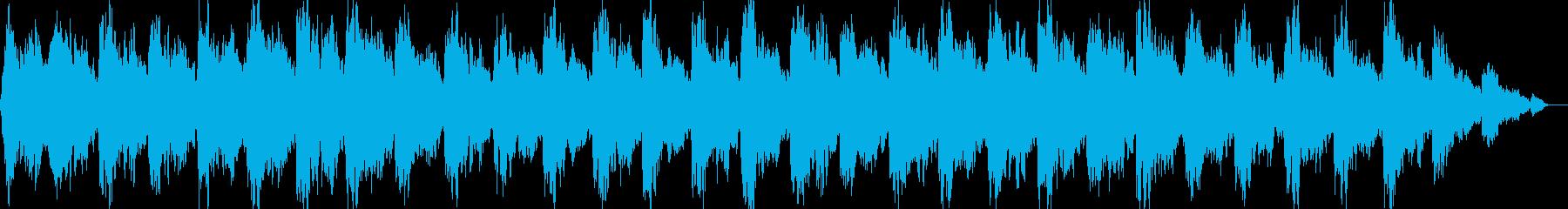 オカルト/ミステリー/ホラーサスペンスの再生済みの波形