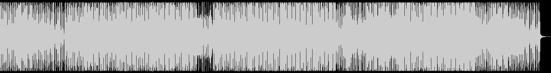 哀愁ハウストラック 感傷的なシンセポップの未再生の波形