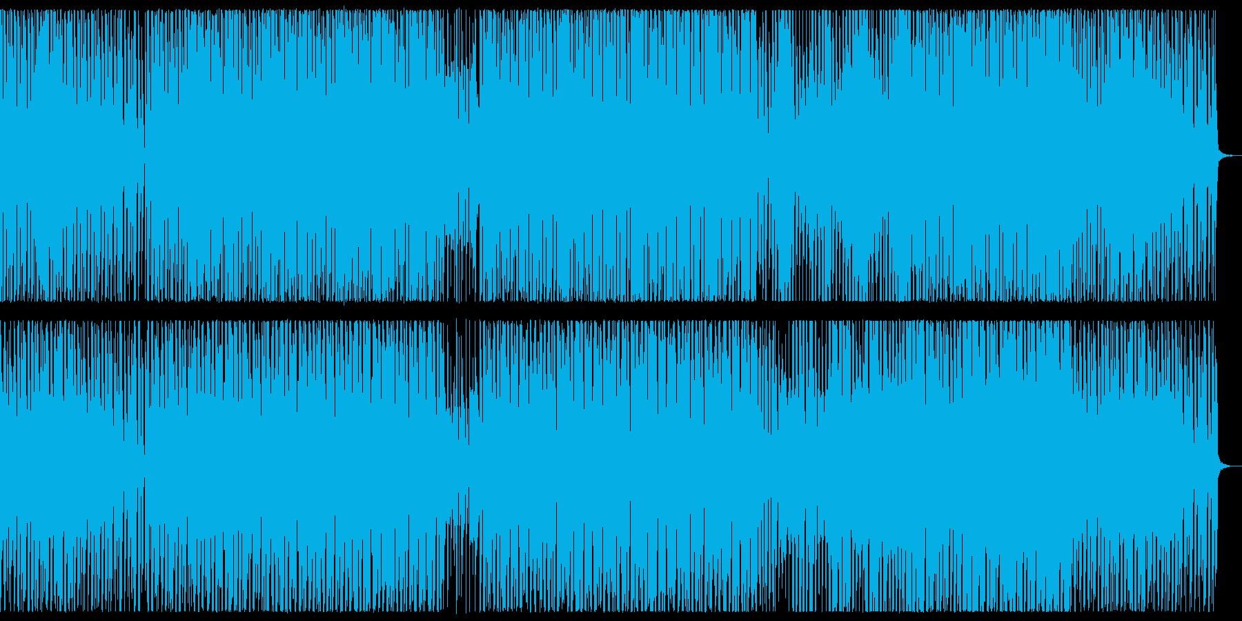哀愁ハウストラック 感傷的なシンセポップの再生済みの波形