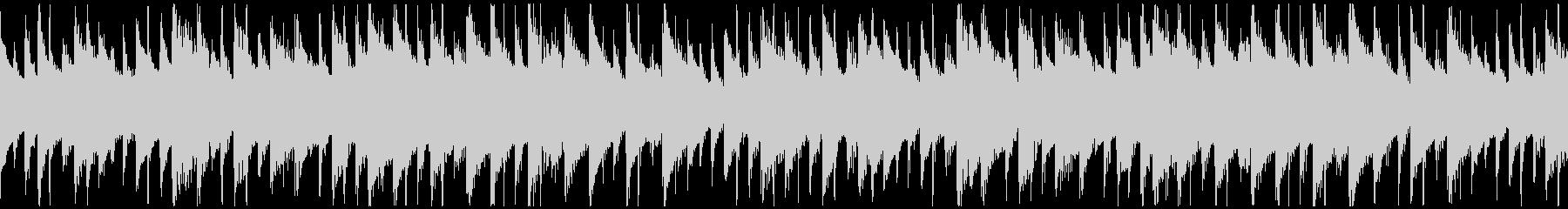 平和な雰囲気のBGM(ループ)の未再生の波形