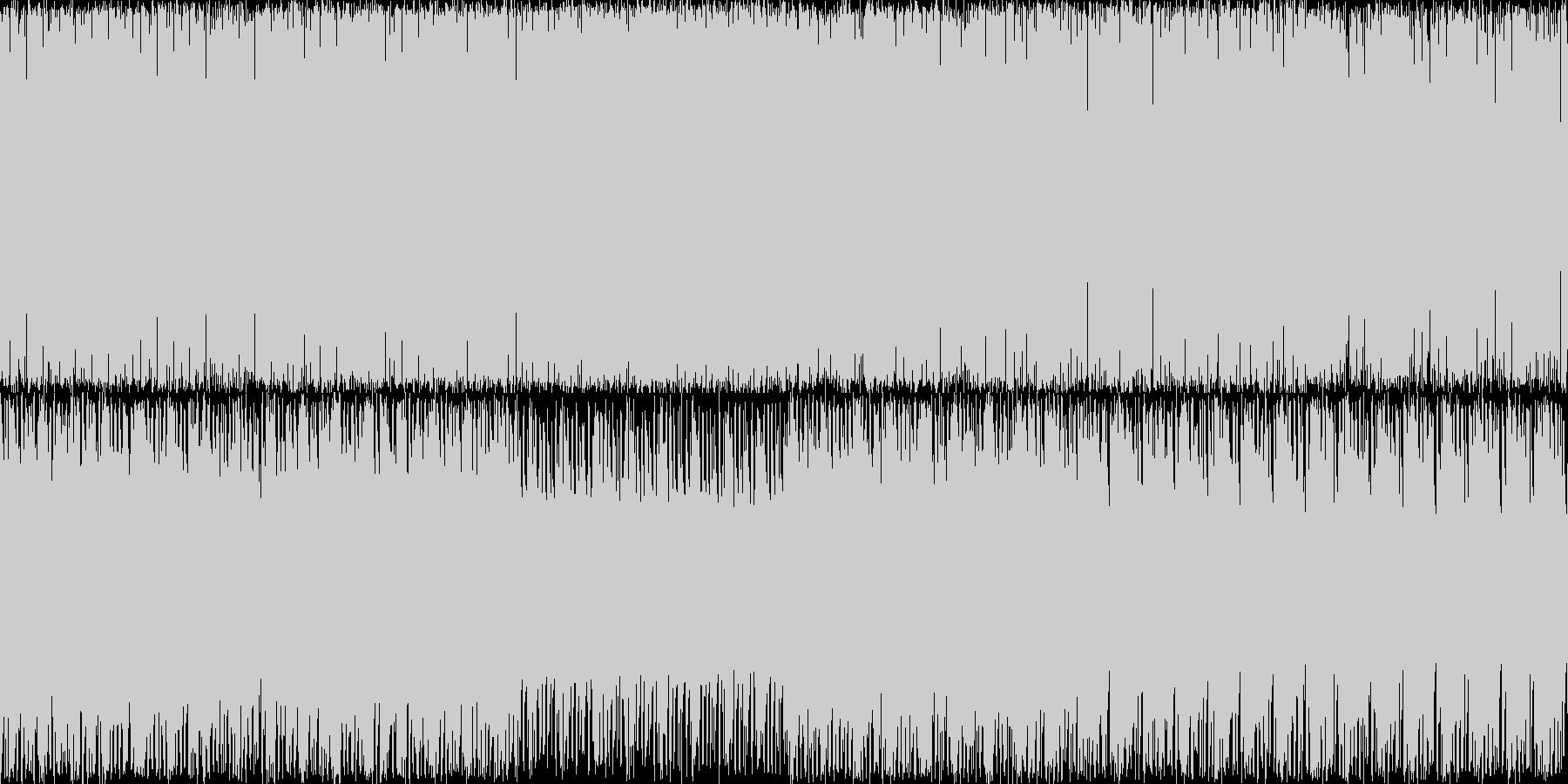 往年のアーケードゲームのFMサウンドで…の未再生の波形