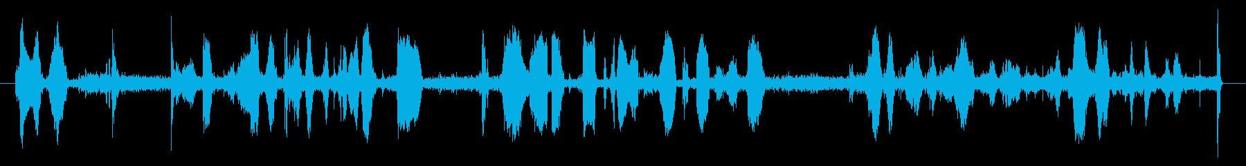 POLICE RADIO CALL...の再生済みの波形