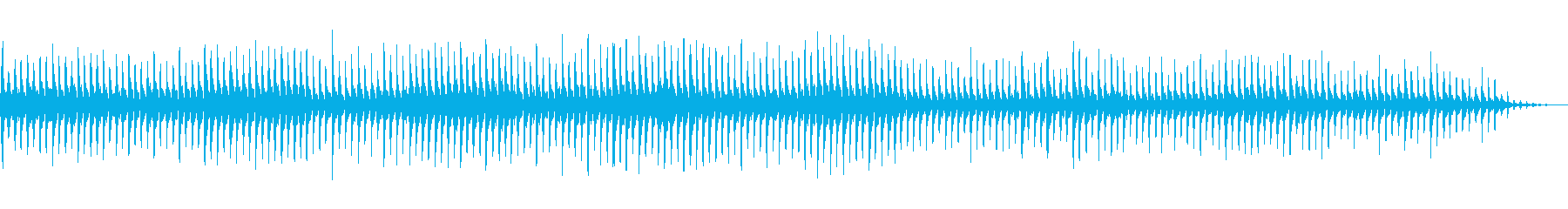 ドラムとタンブリン、ネイティブリズ...の再生済みの波形